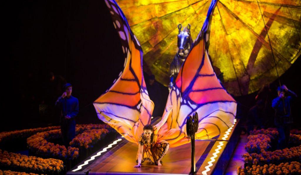 Circo del Sol ofrece su espectáculo gratis en internet