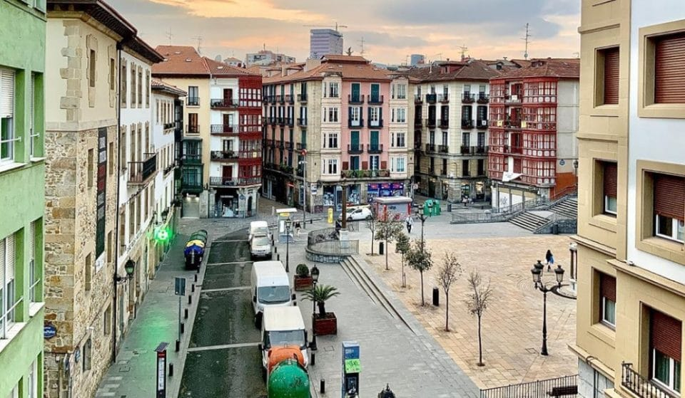 Bilbao vacía: las cámaras de la diputación enseñan las fotos de la ciudad desierta