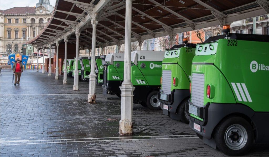 Las calles de Bilbao se fumigarán con desinfectante por el coronavirus