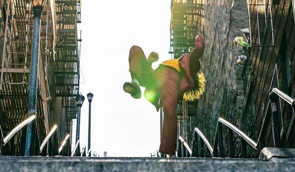 El Joker es de Bilbao y baila en las escaleras de Mallona