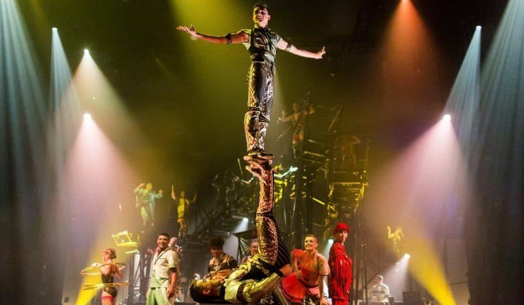El Circo del Sol emite hoy un espectáculo gratuito en internet