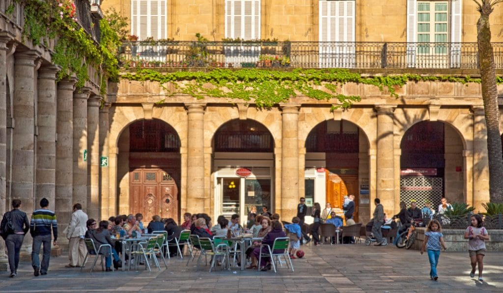 6 zonas con terrazas de Bilbao para tomar algo en la fase 2