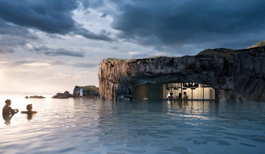 Islandia abre este espectacular lago termal con vistas a las auroras boreales