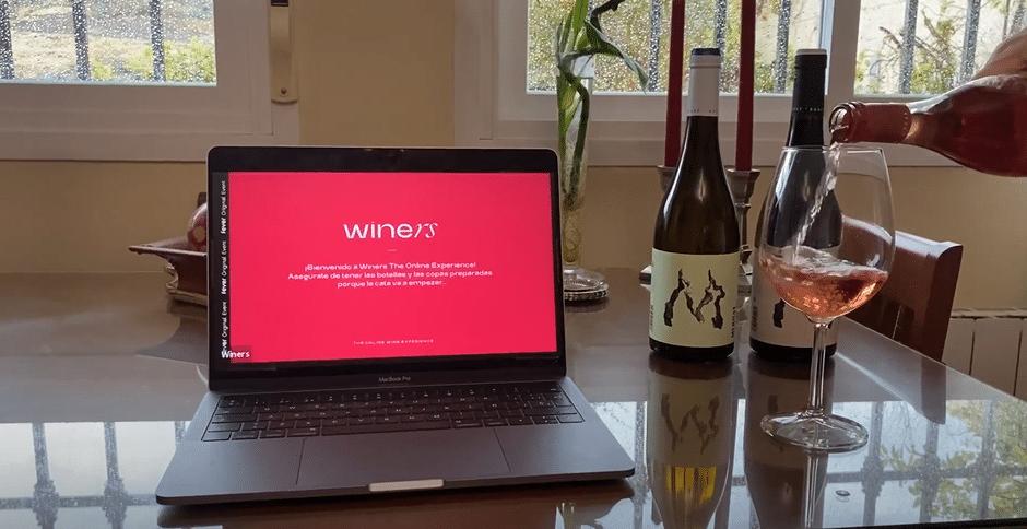 Winers: la experiencia de catas online mejor valorada de la temporada