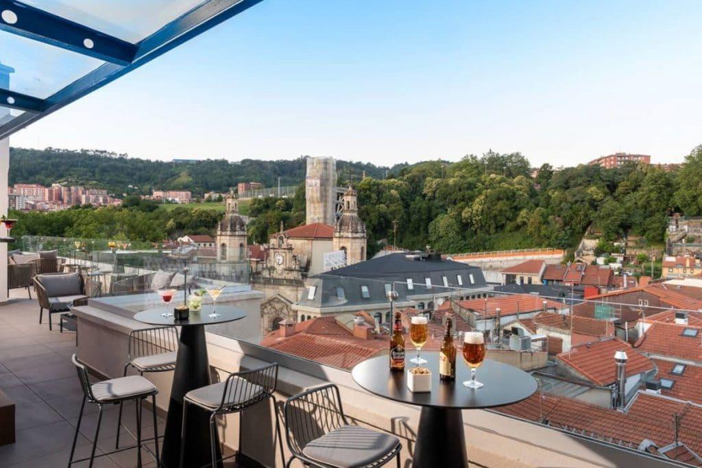 Las terrazas más espectaculares de Bilbao