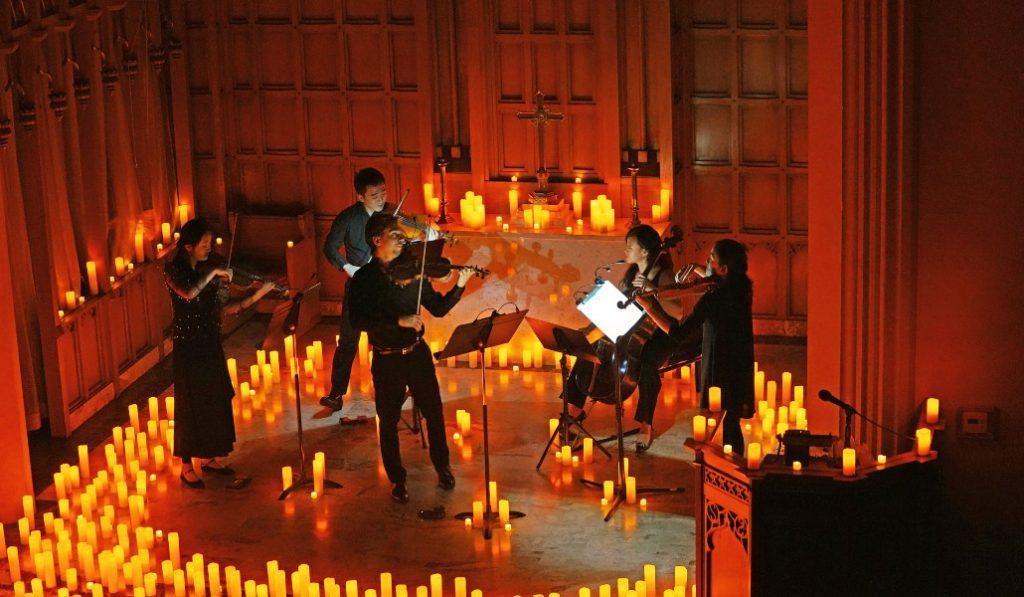 Las Cuatro Estaciones de Vivaldi bajo la luz de las velas en el Convento de la Merced