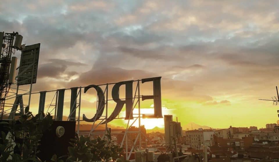 La terraza del Hotel Ercilla: Bilbao a tus pies