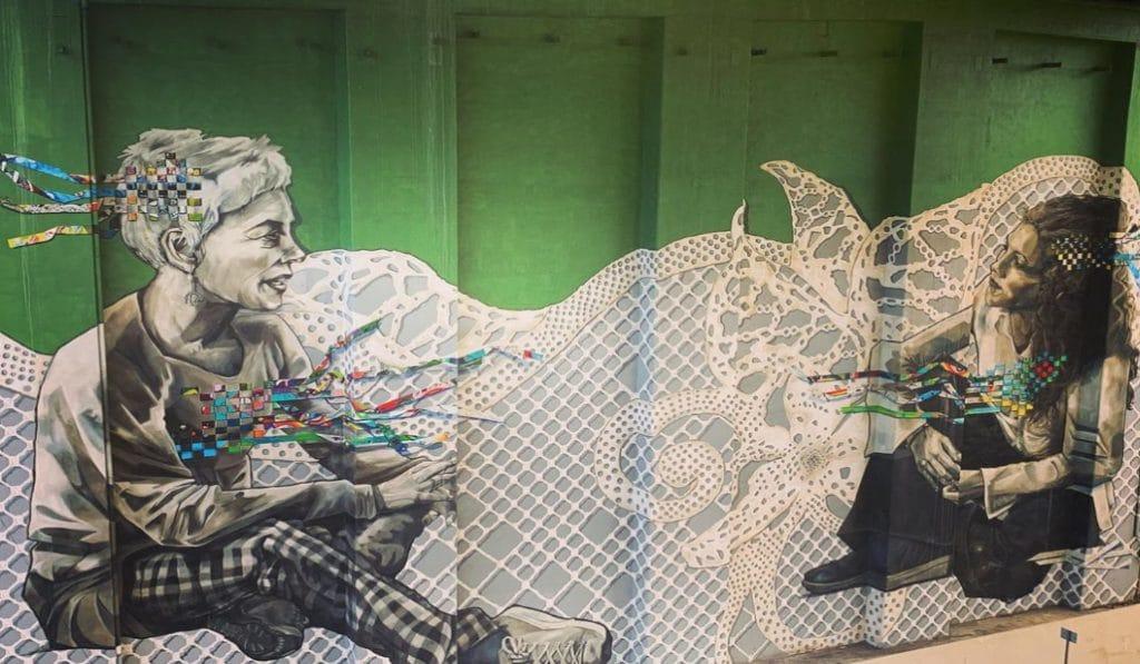 Ruta por 10 de los murales más espectaculares de Bilbao