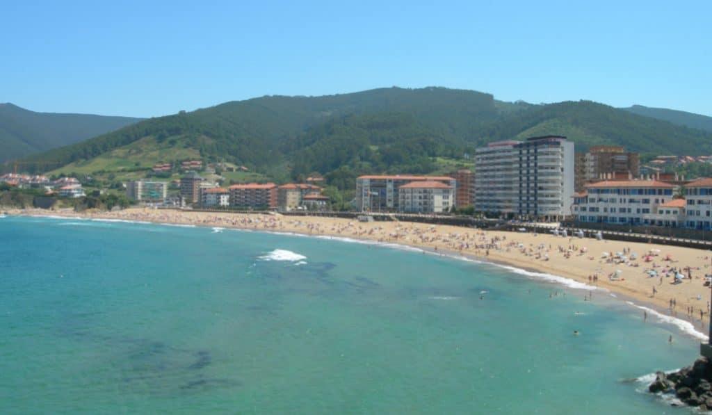 Las playas de Bizkaia, más concurridas que en 2019