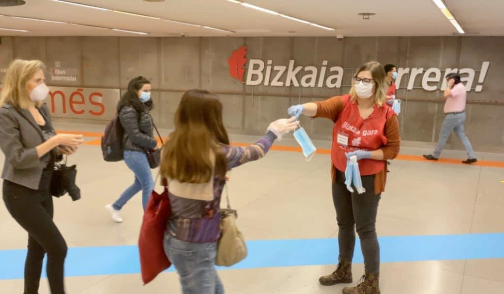 Solo el 12% de la ciudadanía de Bizkaia considera la pandemia como el principal problema