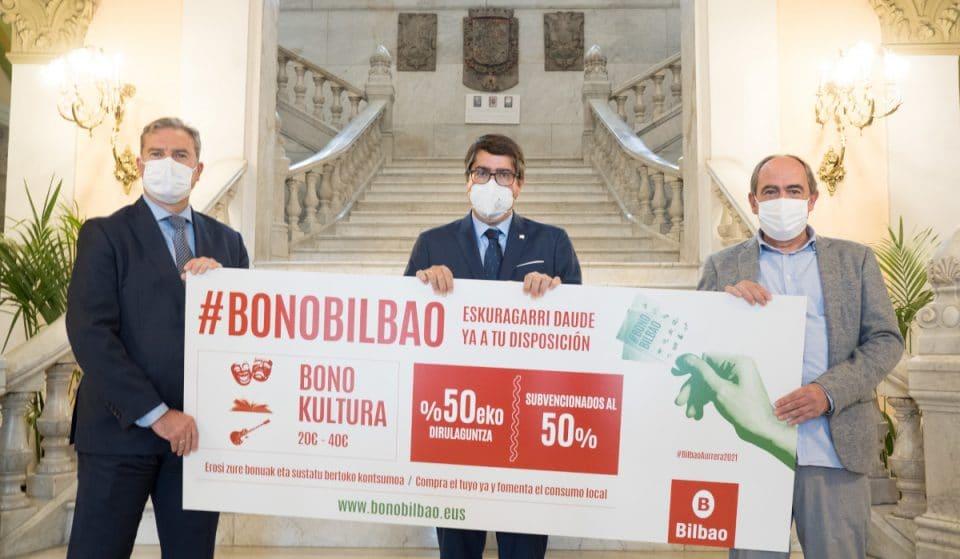 Bilbao lanza más de 30.000 bonos descuento para impulsar el consumo de cultura