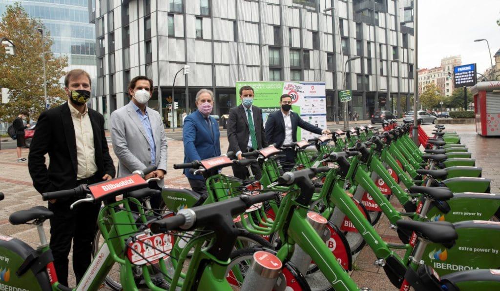 Bilbao contará con 100 nuevas bicis eléctricas y otro punto de recogida