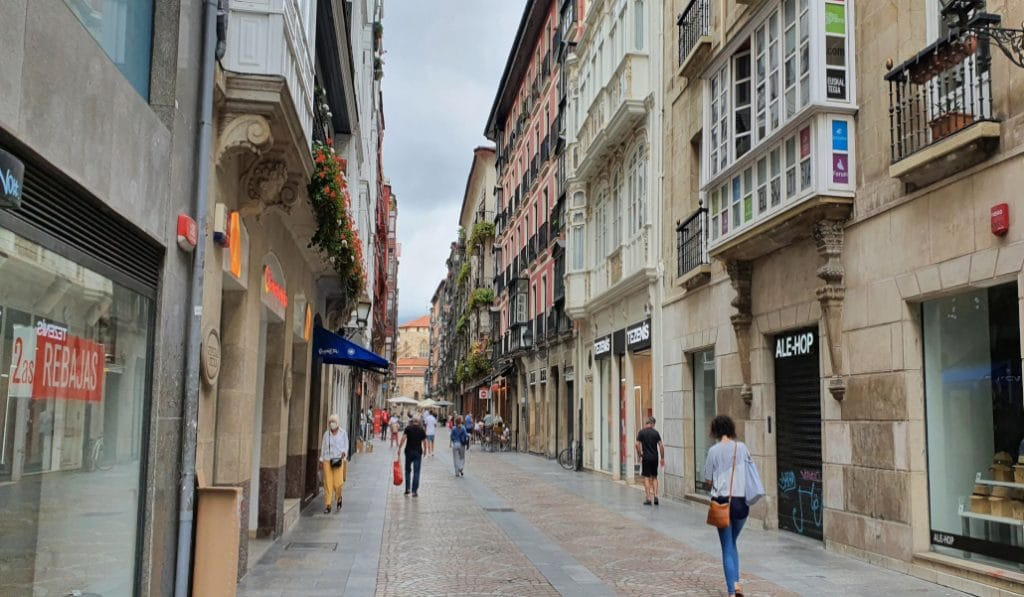 Bilbao, la ciudad con el mayor ratio de kilómetros peatonalizados del país