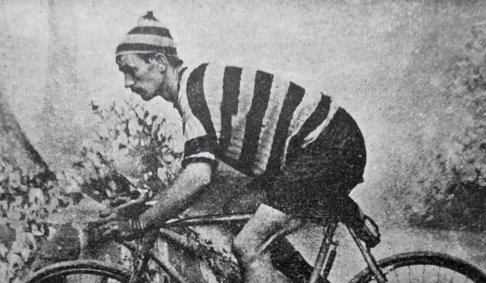 El primer ciclista vasco en correr el Tour era de Deusto y no tenía pies
