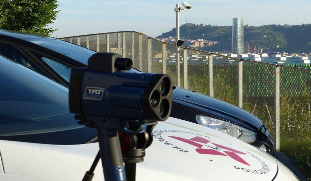 Comienzan los primeros controles de velocidad con Bilbao a 30km/h