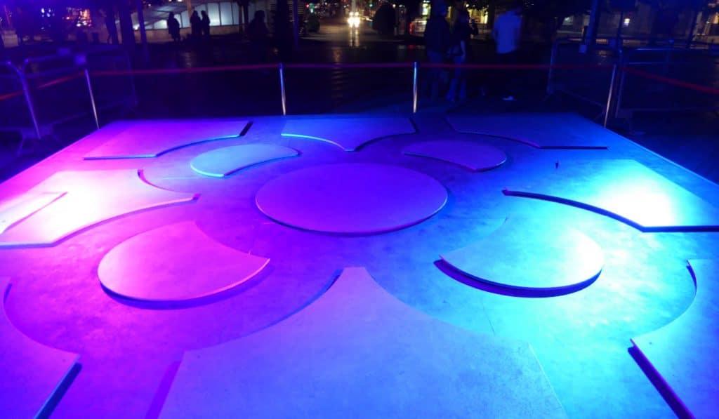 Nuevas proyecciones y espectáculos de luz este fin de semana en Bilbao