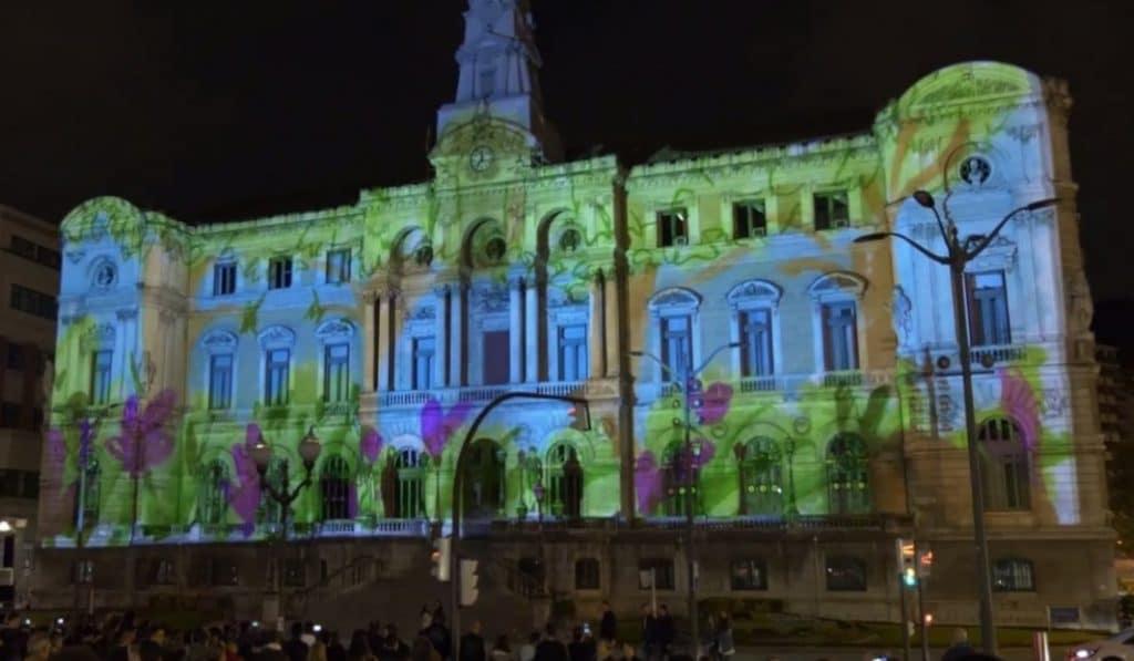 El Ayuntamiento de Bilbao se convertirá en un cuadro gigante este fin de semana