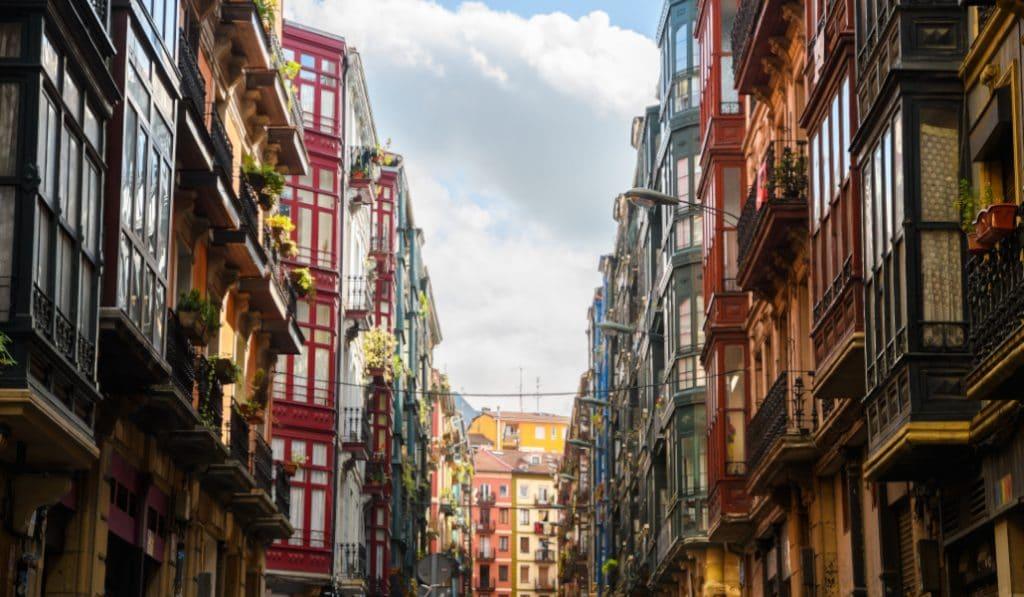 Esta es la calle más corta de Bilbao
