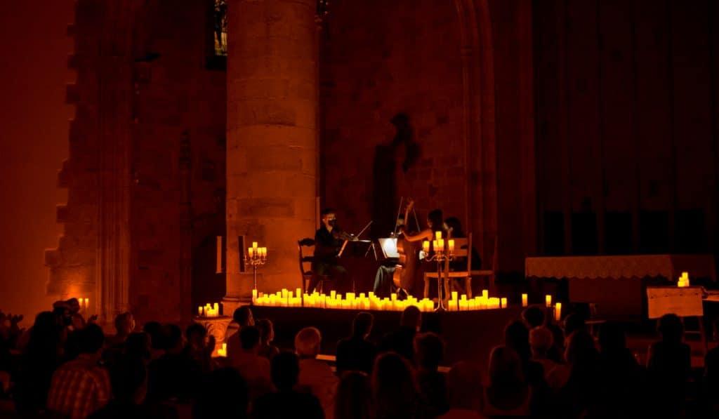 Las Cuatro Estaciones de Vivaldi en Bilbao y bajo la luz de las velas