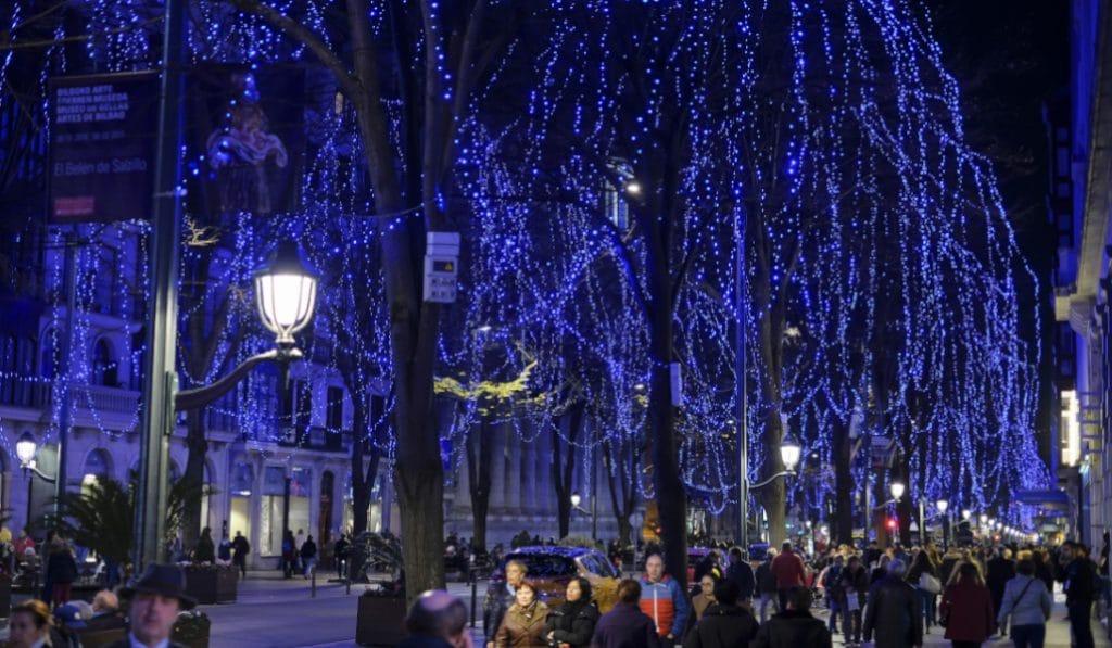 Bilbao realiza hoy el encendido de las luces de Navidad