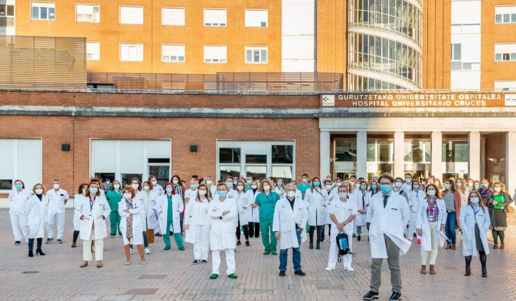 El Hospital de Cruces recibe el Premio «Best in Class» al mejor servicio de anestesia y reanimación