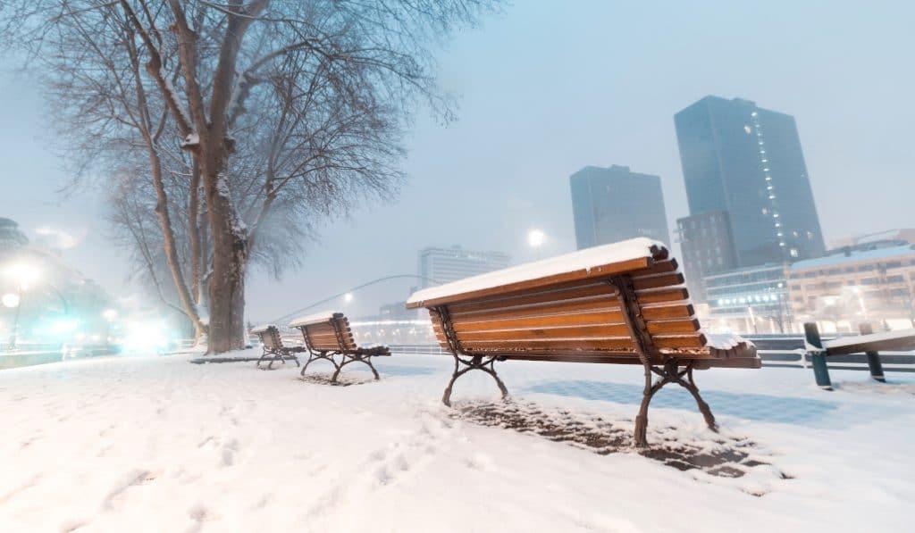«Filomena» dejará este sábado nieve a nivel del mar en Bizkaia