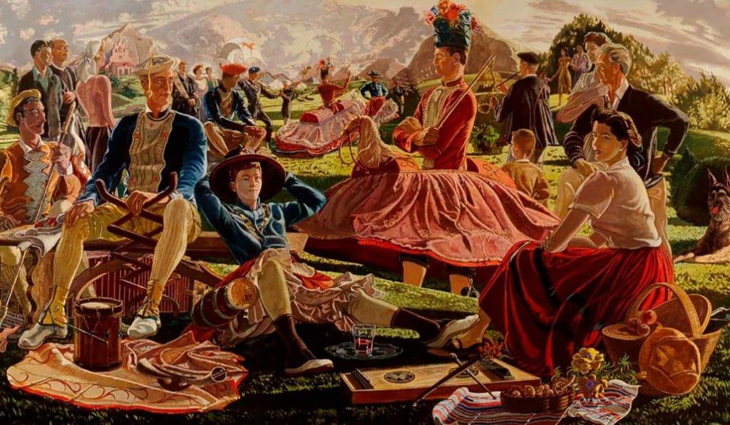 «Bilbao y la pintura»: un viaje pictórico al pasado de la Villa en el Guggenheim