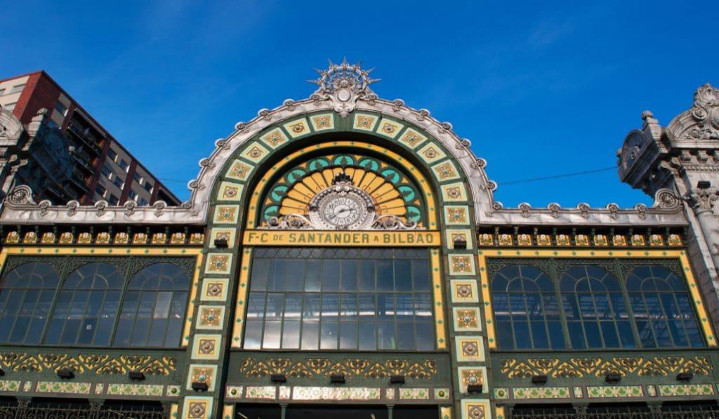 La Concordia: la centenaria estación modernista de Bilbao