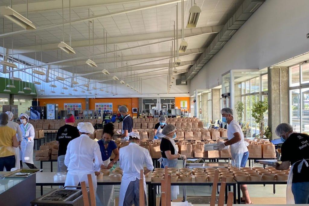 Las escuelas hosteleras de Euskadi elaborarán mil menús solidarios a la semana