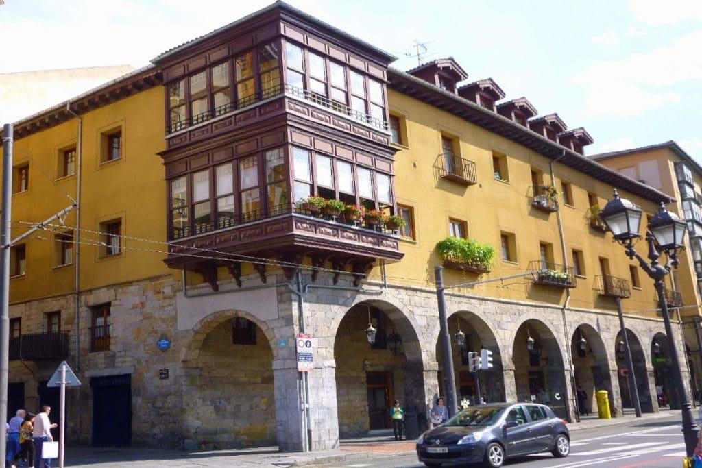 El palacio más antiguo de Bilbao está en las Siete Calles, y se llama Arana