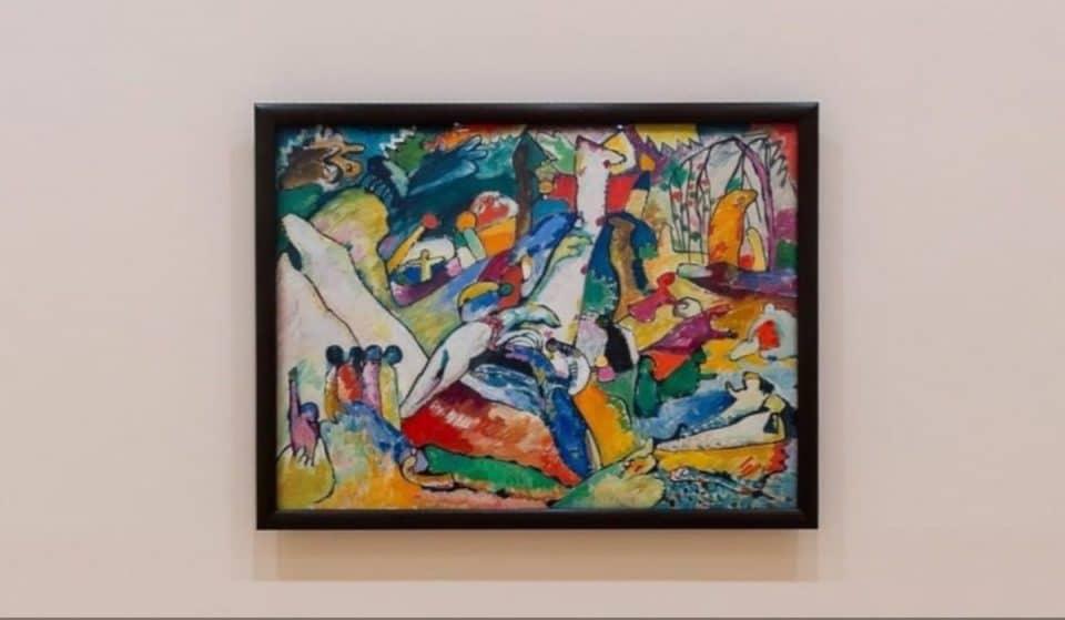 El Guggenheim ofrece una visita online de 360º a la muestra de Kandinsky