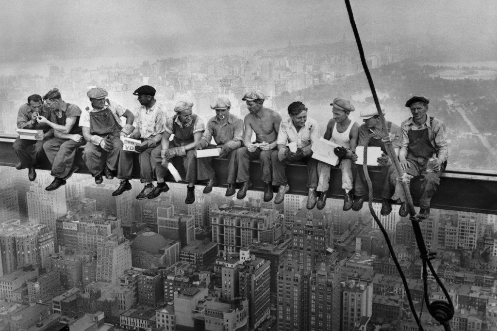 Uno de los trabajadores de la mítica foto del Rockefeller Center era de Bizkaia