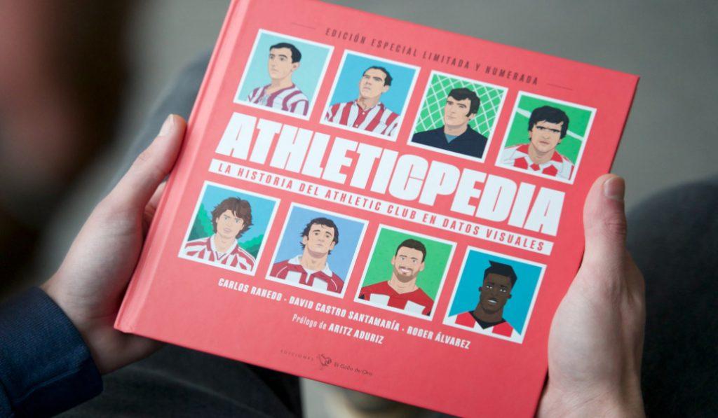 Athleticpedia: el libro que narra la historia del Athletic mediante datos e ilustraciones