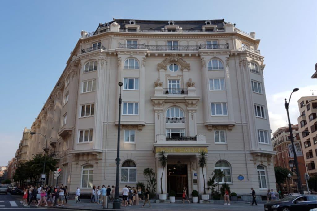 El Hotel Carlton vuelve a abrir sus puertas el 19 de marzo