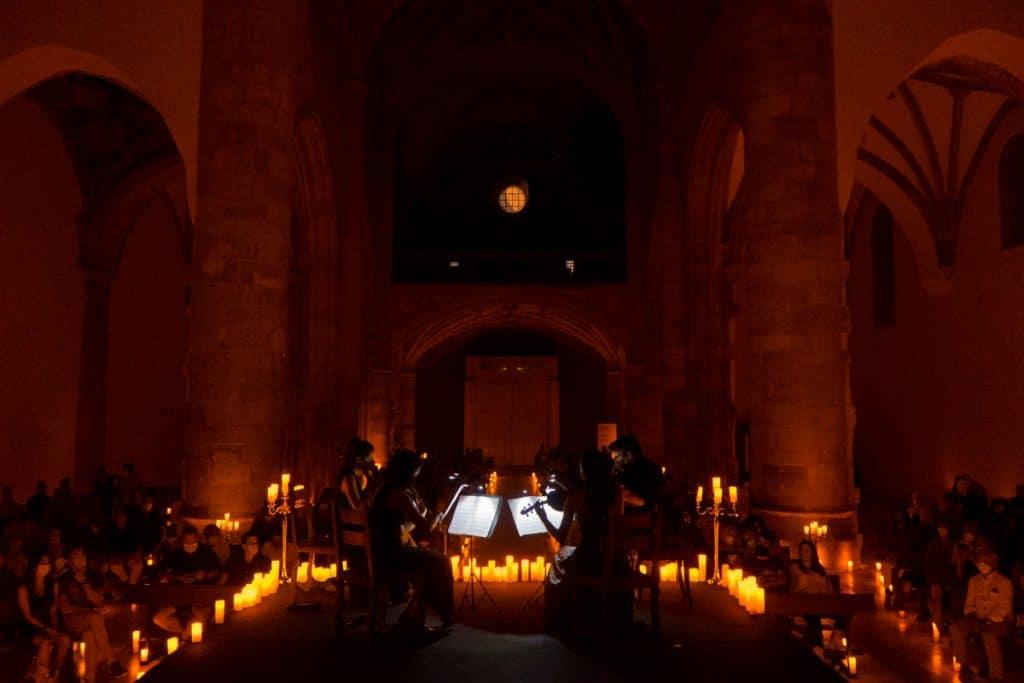 Llega a Bilbao un concierto de bandas sonoras mágicas bajo las velas