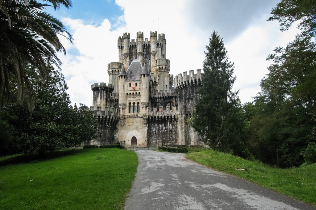 El castillo de Butrón, entre los más espectaculares de toda España