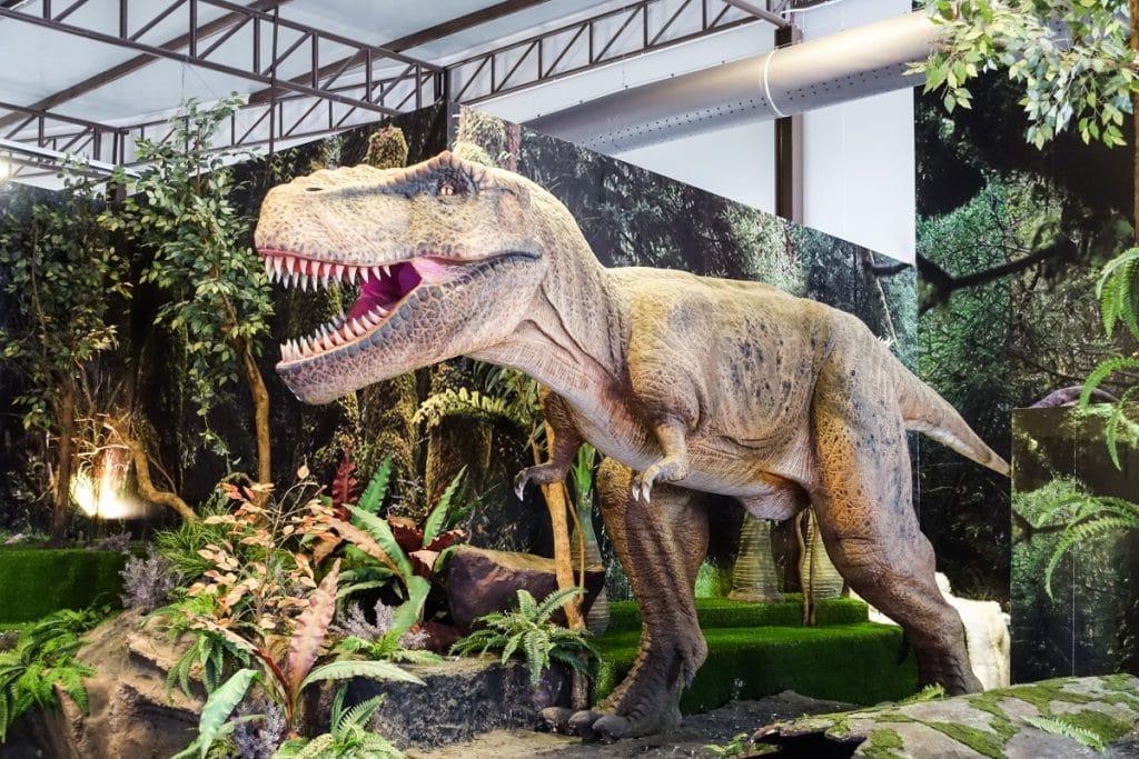 Bilbao acoge «Dinosaur World», una exposición con más de 30 dinosaurios a gran escala