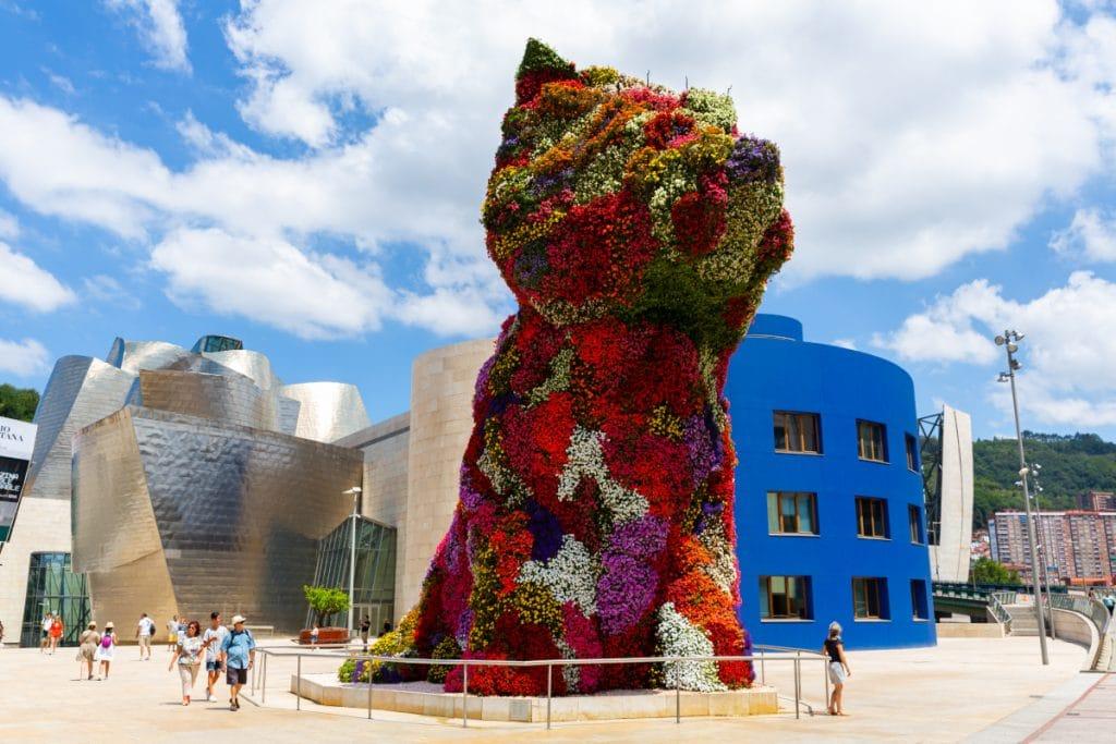 Puppy: el guardián del Guggenheim, icono de Bilbao
