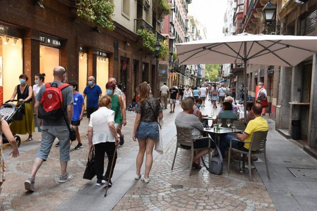 Bilbao sigue en alerta roja y el confinamiento se mantiene una semana más