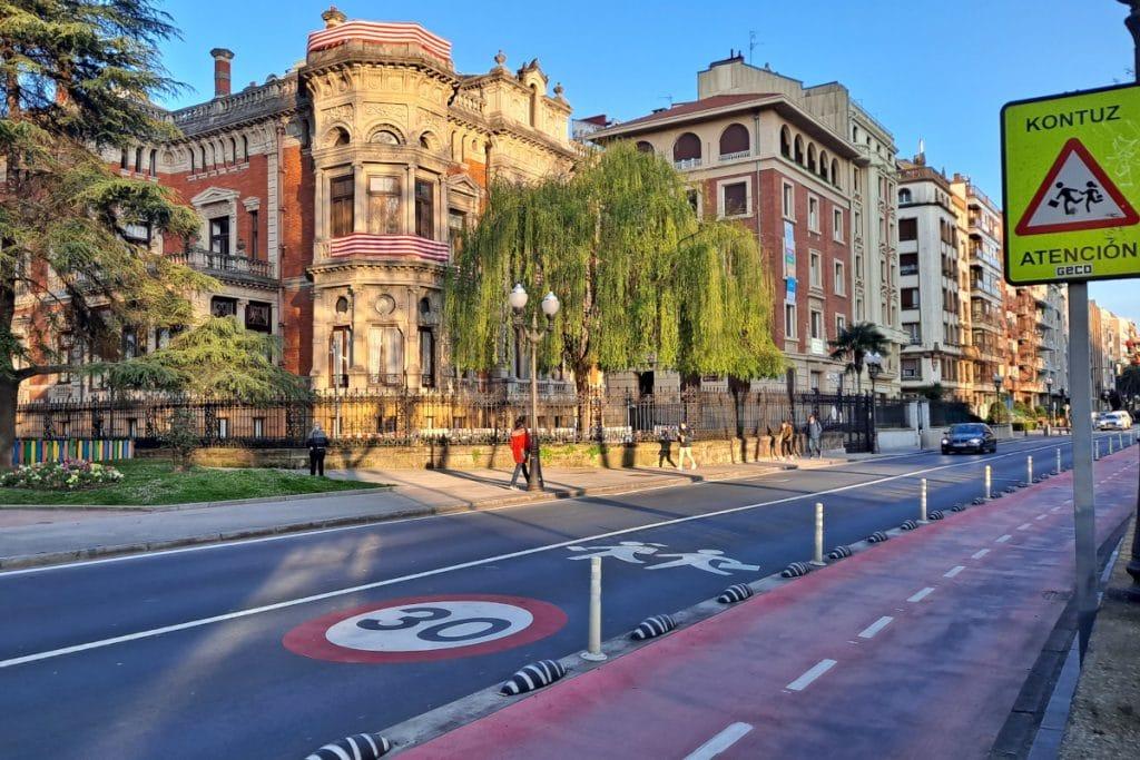 Bilbao recibe el premio europeo a la seguridad vial urbana