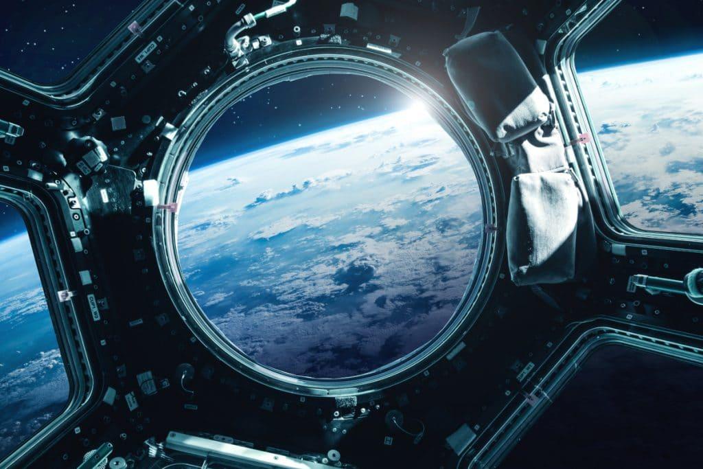 Así se ve Bilbao desde la Estación Espacial Internacional