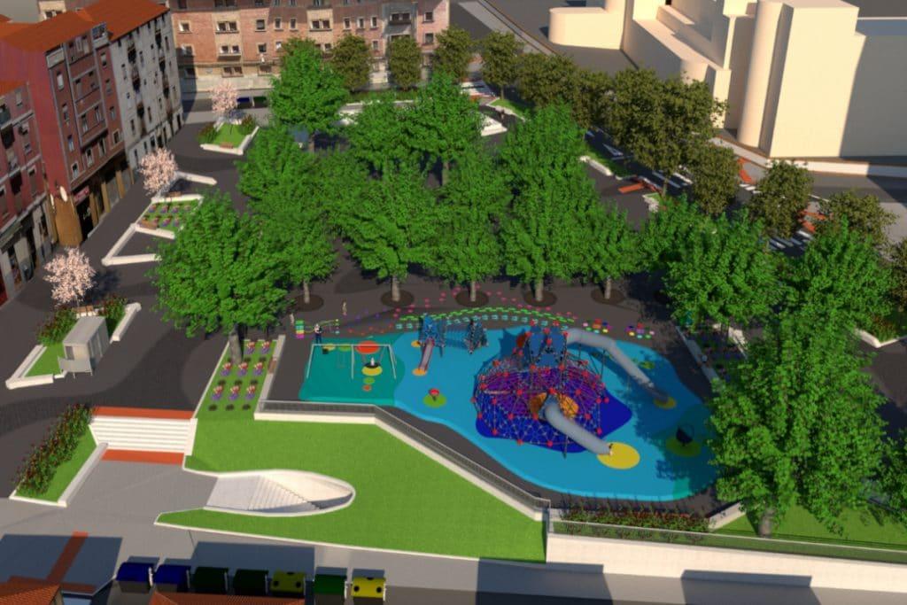 El Ayuntamiento renovará la Campa Basarrate y sus aledaños