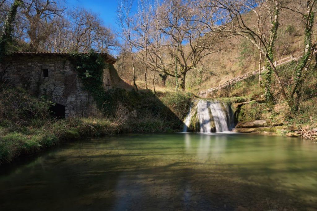 Pozas desconocidas de Bizkaia en las que bañarte en plena naturaleza
