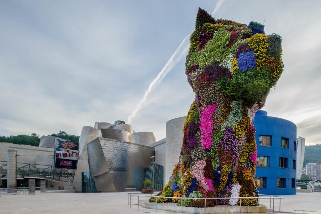 El Guggenheim lanza una campaña de recaudación para renovar a Puppy