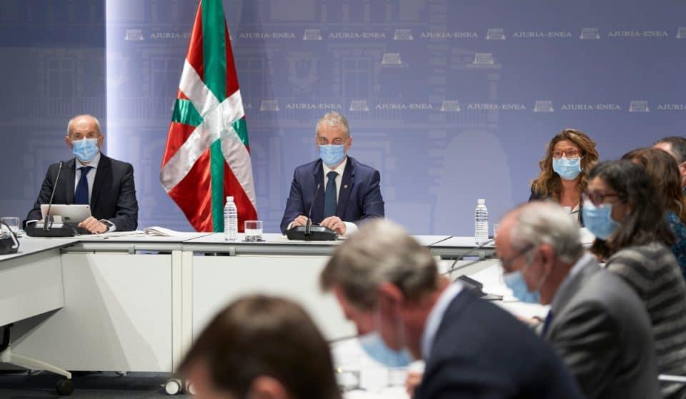 Así es la nueva hoja de ruta contra la pandemia aprobada por el Gobierno Vasco