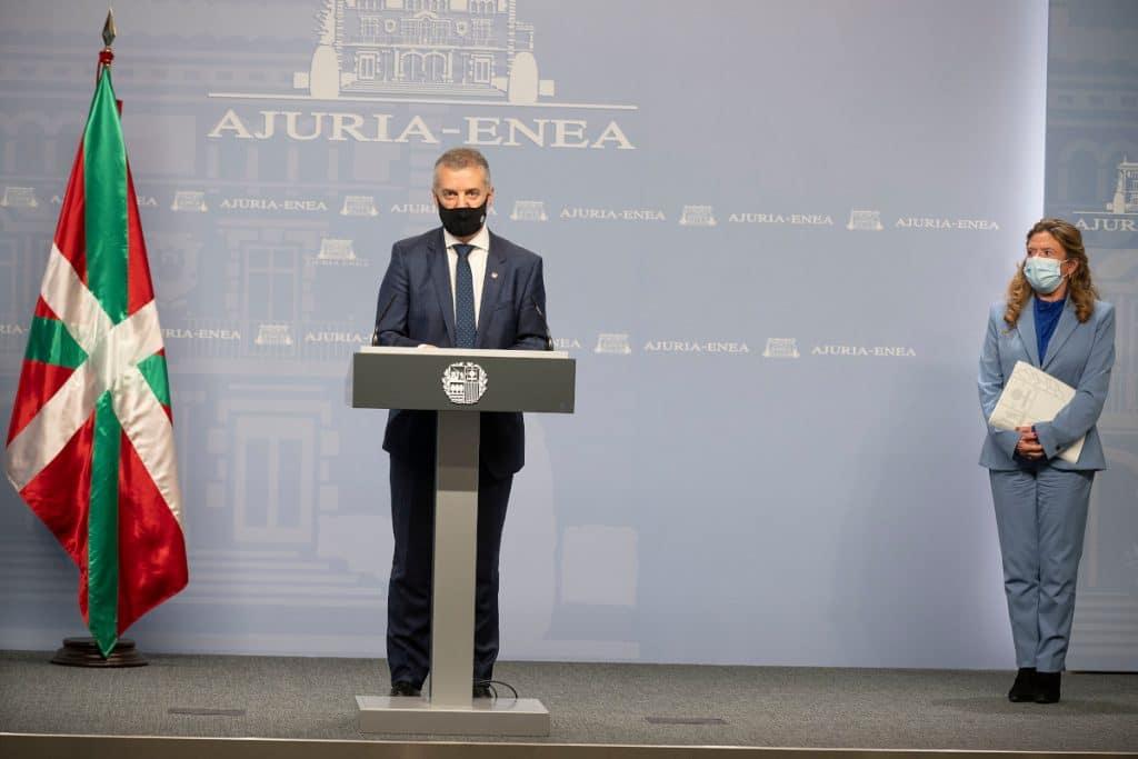 Euskadi mantendrá los horarios en la hostelería y las actuales restricciones