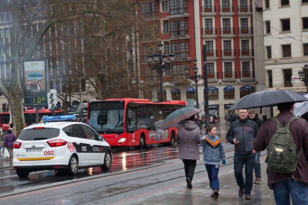 En Bilbao llueve más que en Londres