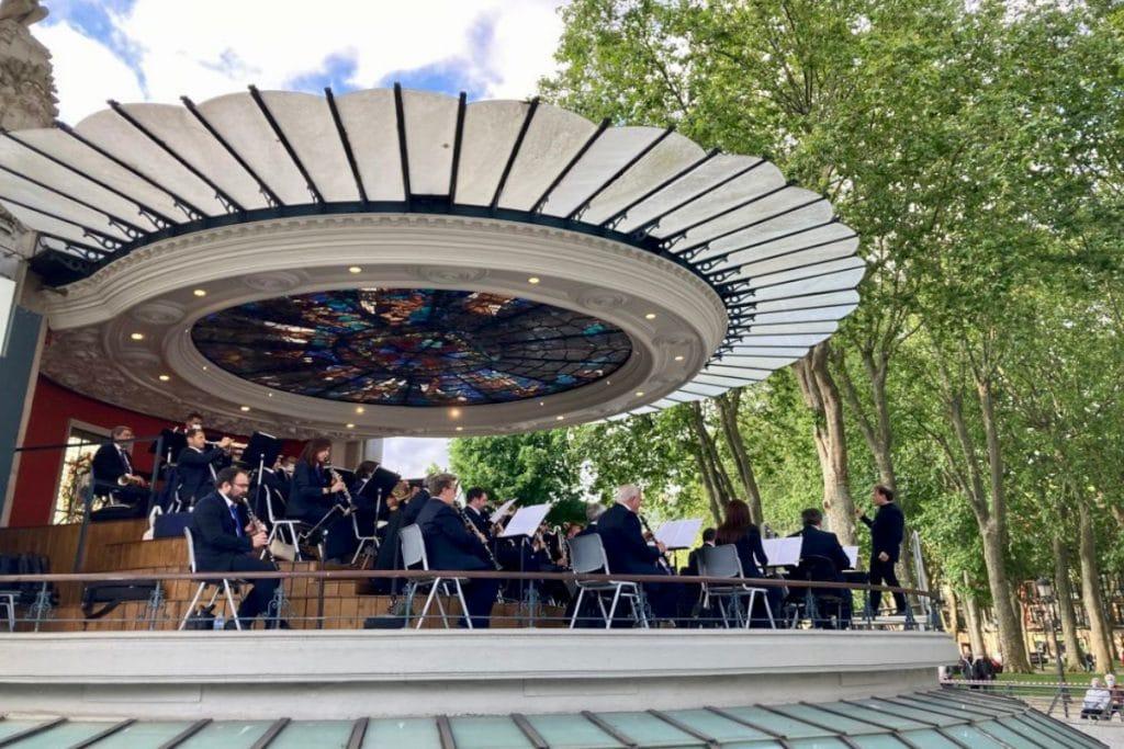 «Tardeos musicales»: conciertos de la Banda Municipal de Bilbao en el Kiosko del Arenal