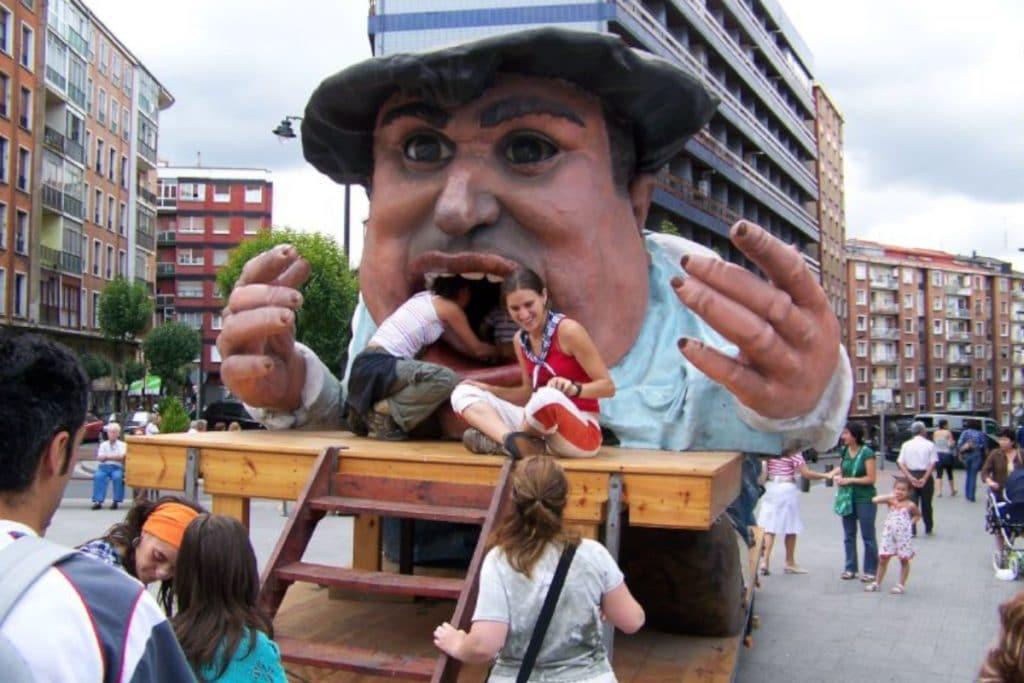 Gargantúa: un icono de Bilbao y la Aste Nagusia