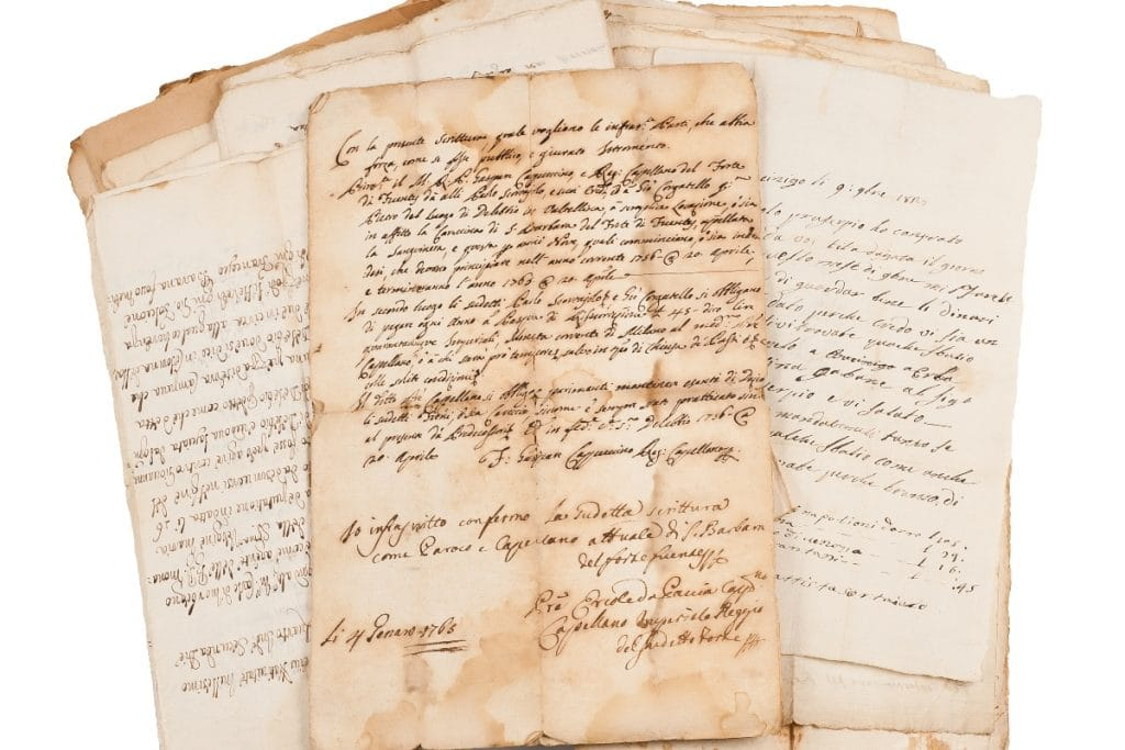 Así es la carta de un soldado en Santurtzi que se ha encontrado casi 50 años después en la basura